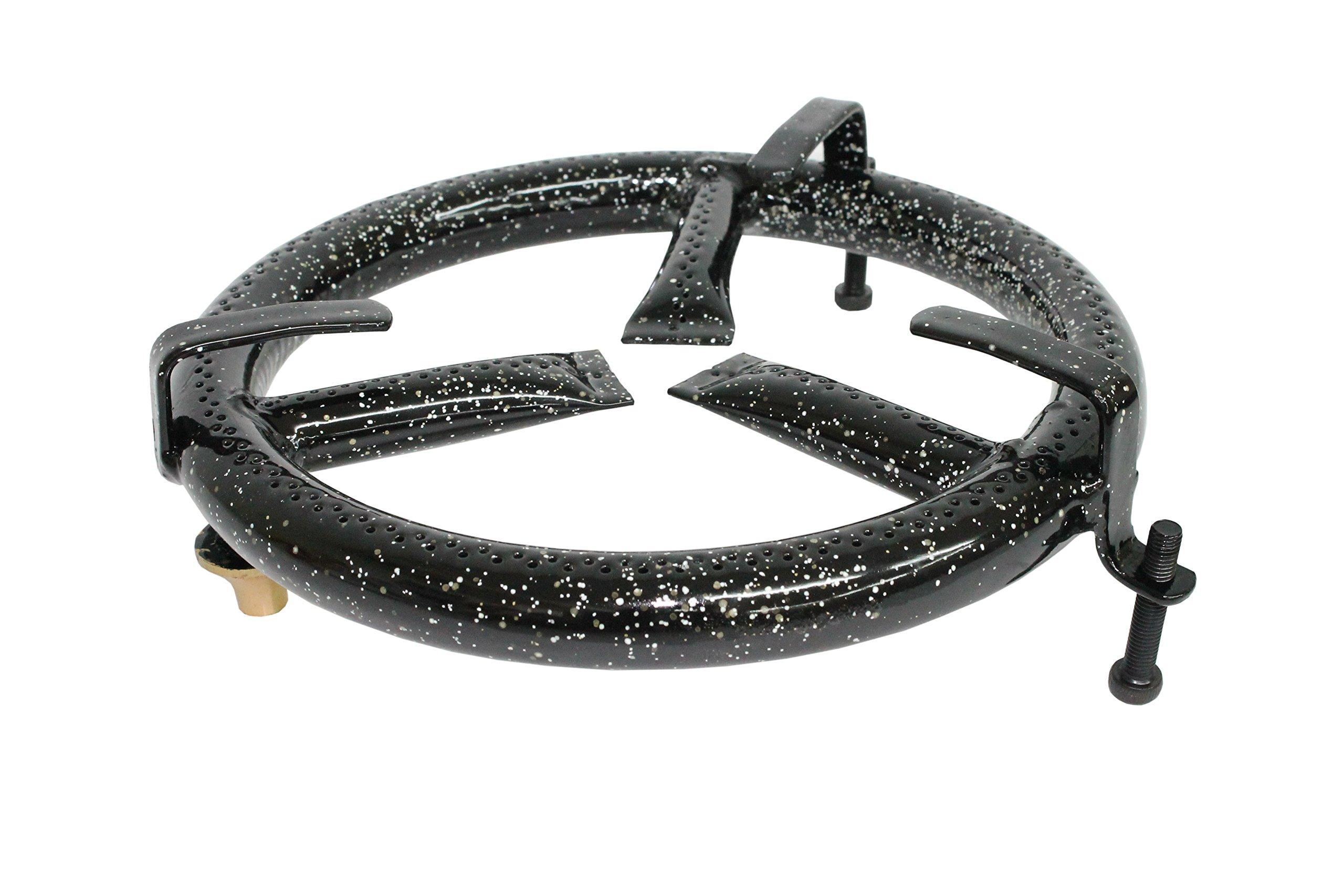 Garcima 20100 – Hornillo paellero sobrecocina, 20 cm, color negro