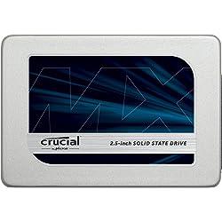 Crucial MX300 CT525MX300SSD1 SSD Interno, 525 GB, 3D NAND, SATA, 2.5 Pollici