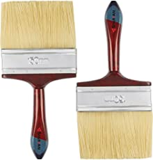 Spartan Paint Brush with Multicolour Handle Set of 2 (150 MM)