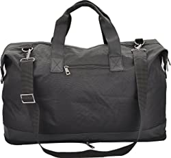Vian Black Leatherette 236Cms Soft Sided Travel Bag