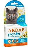 Ardap Spot-On für Katzen, Hochwirksames Mittel gegen Zecken und Flöhe