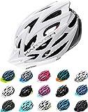 Meteor Casco Bici Ideale per Giovani e Adulti Donna e Uomo Caschi Perfetto per Downhill Enduro MTB Scooter Helmet per…