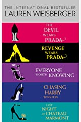 Lauren Weisberger 5-Book Collection: The Devil Wears Prada, Revenge Wears Prada, Everyone Worth Knowing, Chasing Harry Winston, Last Night at Chateau Marmont Kindle Edition