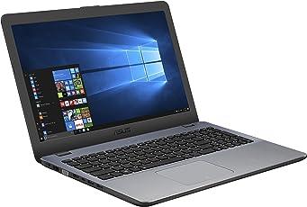 Asus F542UF (90NB0IJ2-M02680) 39,6 cm (15,6 Zoll, HD, Matt) Notebook (Intel Core i3-7100U, 8GB RAM, 256GB SSD, NVIDIA MX130 (2GB), Windows 10) grau