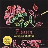 Livre à gratter Fleurs