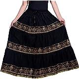 Rajasthani Ethnic Skirt Women Maxi Skirt
