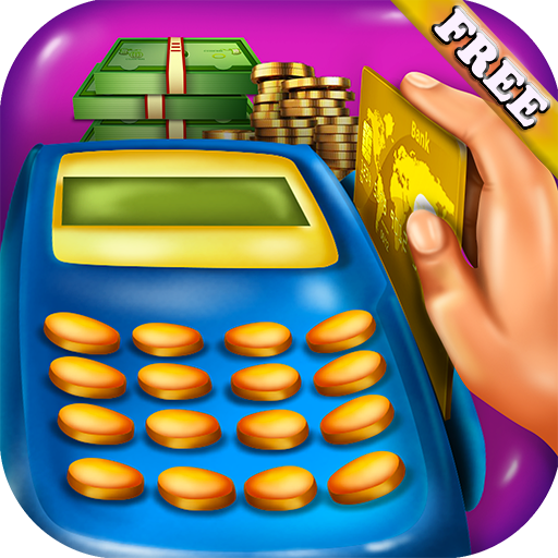 Supermarkt Kassierer : Griff Geld verwenden Kassen und POS in diesem Spiel der Supermarkt Kassiererin und Shopping ! KOSTENLOS (Co-einkaufstasche)
