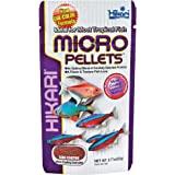 Hikari Tropical Micro Pellets Tetra,Barbs and Small-Mouthed Fish Food, 22g