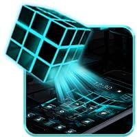 Neon Rubix Cube 2D Theme