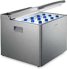 DOMETIC CombiCool RC 1200 EGP - lautlose, elektrische Absorber-Kühlbox mit Gas-Anschluss 50 mbar, 40 Liter, 12 V und 230 V für Auto, Lkw und Steckdose
