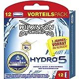 Wilkinson Sword Hydro 5 jaar voorraad pakket heren scheermesjes, 12 stuks
