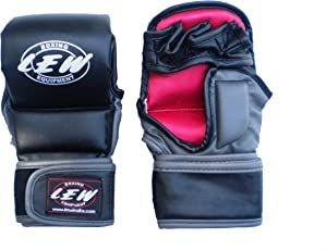 LEW Striking Training MMA Gloves (Black)