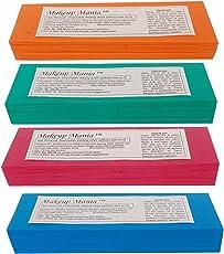 Makeup Mania Plain Waxing Strips - 280 Pieces (Multicolor)