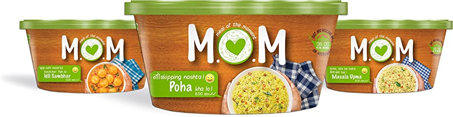 MOM Meal of The Moment Breakfast Combo, 197g (Pack of 3)