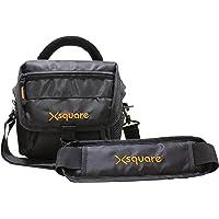 Xsquare DSLR Camera Shoulder Bag Travel Camera Bag for Nikon Canon Sony Cameras, Lens, Tripod and Accessories Camera Bag…