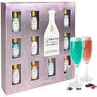 Modern Gourmet Foods, Brillantini per Cocktail al Prosecco o Champagne, Confezione Regalo da 10 Sapori Unici, Aromi…