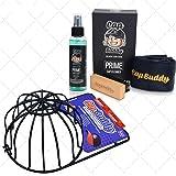 Cap Buddy Cap Cleaner Set regalo Premium Baseball Cap Cleaner per i tuoi cappucci da baseball con spray, spazzola e panno