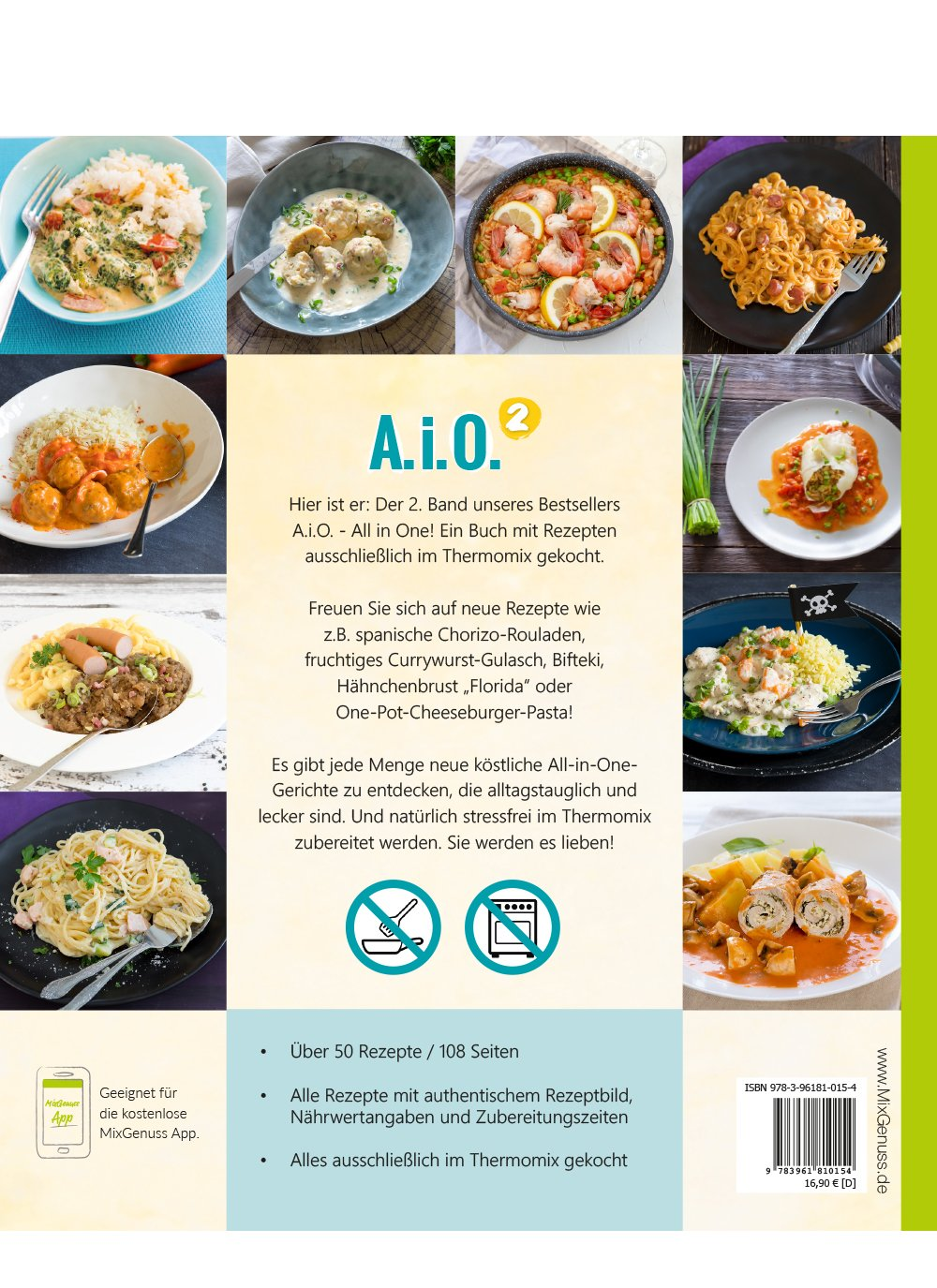 A. i. O. – ALL IN ONE Band 2: Rezepte für den Thermomix
