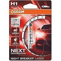Osram 64150NL-01B Night Breaker Phare Halogène Laser H1-12 V