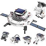 Sillbird 6 in 1 STEM Solar Robot Toys Kit for Kids, Educational Space Exploration Fleet Building Learning Science Experiment