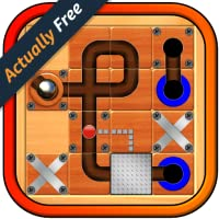 Marble Mania – latest action puzzle game; guide the rolling silver sphere ball through the labyrinth board maze