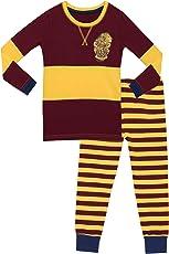 Harry Potter Mädchen Gryffindor Schlafanzug Slim Fit