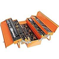Beta 2120L-E/T91-I - Cassetta porta attrezzi in metallo con Set di 91 Attrezzi per la Manutenzione Generale, in…