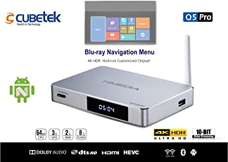 CUBETEK Himedia Q5PRO, 4K HDR Media Player