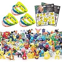 Yisscen Ensemble de Jouets, Mini Figures Bracelets Autocollants Action Figurines pour Enfants et Adultes Fête d…