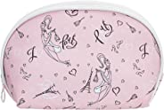 Amazon Brand - Solimo Cosmetic, Makeup & Toiletries Pouch (Paris; Pink)