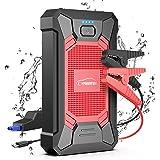 YABER Booster Batterie, 800A 12000mAh IP66 Étanche Booster de Batterie Voiture Moto (Jusqu'à 5,0L de Essence 4,0L Diesel) Rob