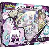 Pokémon Coffret V 4 boosters-Galopa de Galar V-Jeu de cartes à jouer et à collectionner, POEBMAI21