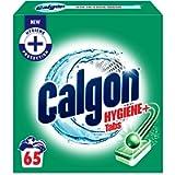 Calgon Hygiene Plus Washing Machine Water Softener, 65 Tablets