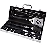 Amazon Basics Grilling Tool Set - 15piece