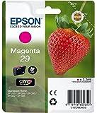 Epson Original T2983 Tintenpatrone Erdbeere, Claria Home Tinte, Text- und Fotodruck (Singlepack) magenta