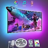 Govee LED Strip 3m, LED TV Hintergrundbeleuchtung TV LED Strip für 46-60 Zoll Fernseher und PC Monitor Bildschirm steuerbar v