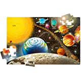 Melissa & Doug Solar System Floor Puzzle (Floor Puzzles, Easy-Clean Surface, Promotes Hand-Eye Coordination, 48 Pieces…