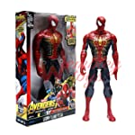 Marvel and Justice League Comic/Movie Super Hero Legends - 12 Inch Action Figure Toy with Sound and Batteries