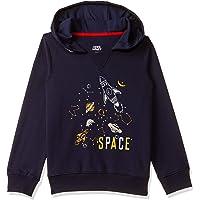 Amazon Brand - Jam & Honey Boys Lightweight Sweatshirt