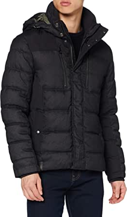 camel active Men's 4202604R6872 Quilted Jacket