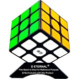 D ETERNAL Fantasy QiYi Sail W 5.6cm 3x3x3 High Speed Puzzle Magic Cube for 14 Years and Up, Multicolor