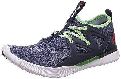 reebok dance shoes. reebok women\u0027s upurtempo 1.0 coll navy, seafoam green and white dance shoes - 4 uk 0