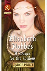 A Wager for the Widow (Mills & Boon Largeprint Historical) Hardcover