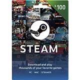 Steam Gift Card - $100 by Valve