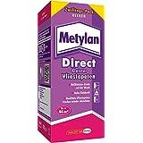 Metylan Direct Kleister für alle Vliestapeten / Professioneller, starker Kleister für bis zu 44m² / Rollkleister für direkten Wandauftrag / 1 x 400g