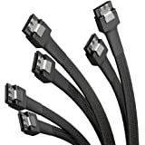 KabelDirekt – 60cm 7-stifts SATA 3-datakabel 6 Gbit/s × 3