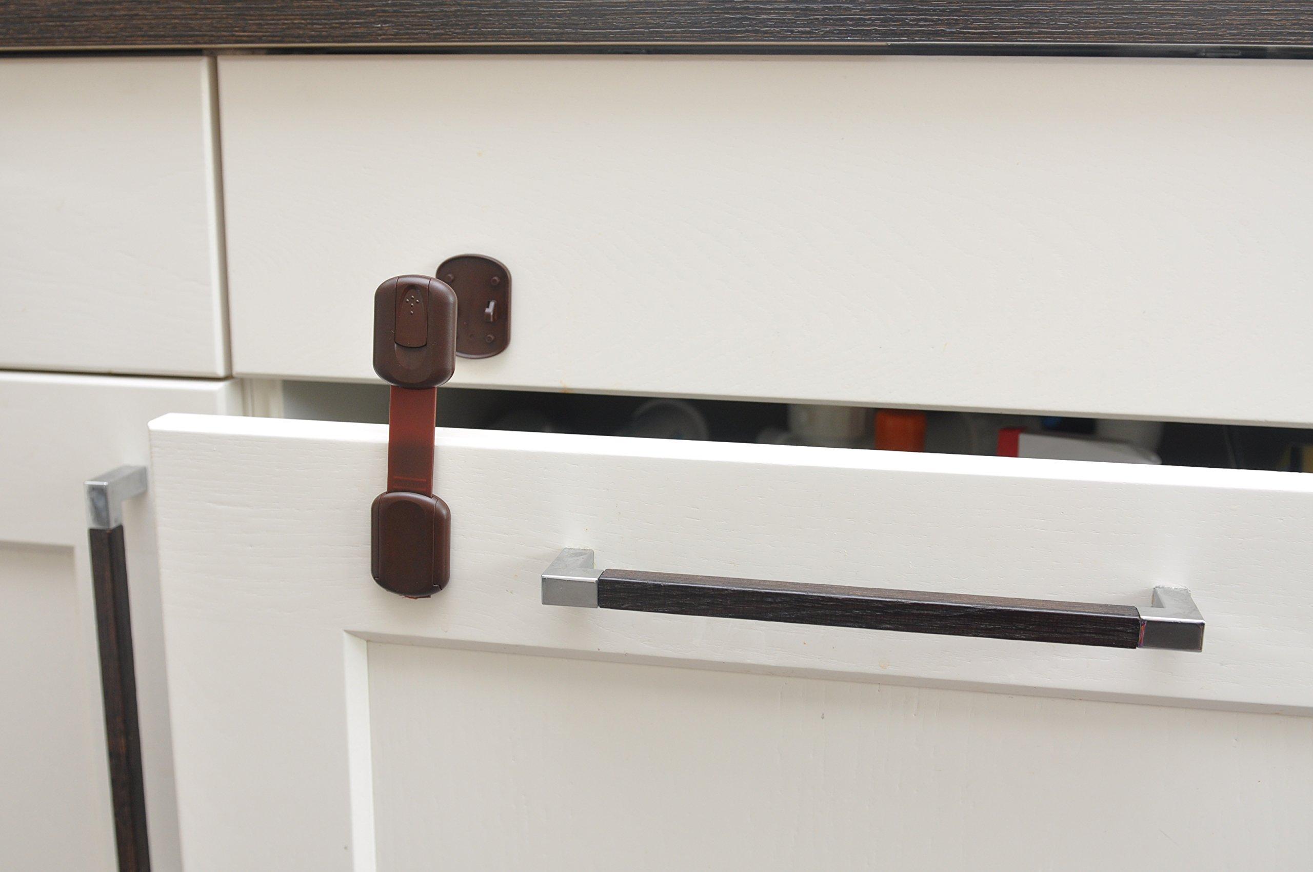 Kühlschrank Kindersicherung : Sweet safety® baby kindersicherung 8 stück zum kleben ohne bohren