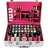 Love Urban Beauty - Vanity Case Cosmetic Make Up Urban Beauty Box Travel Carry Gift Storage 60 Piece