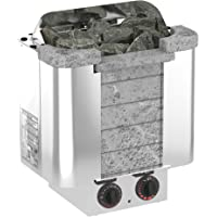 Sauna Poêle Électrique SAWO CUMULUS 4.5 kW avec unité de contrôle intégrée (NB modèle); Multi-Tension: soit monophasé ou…