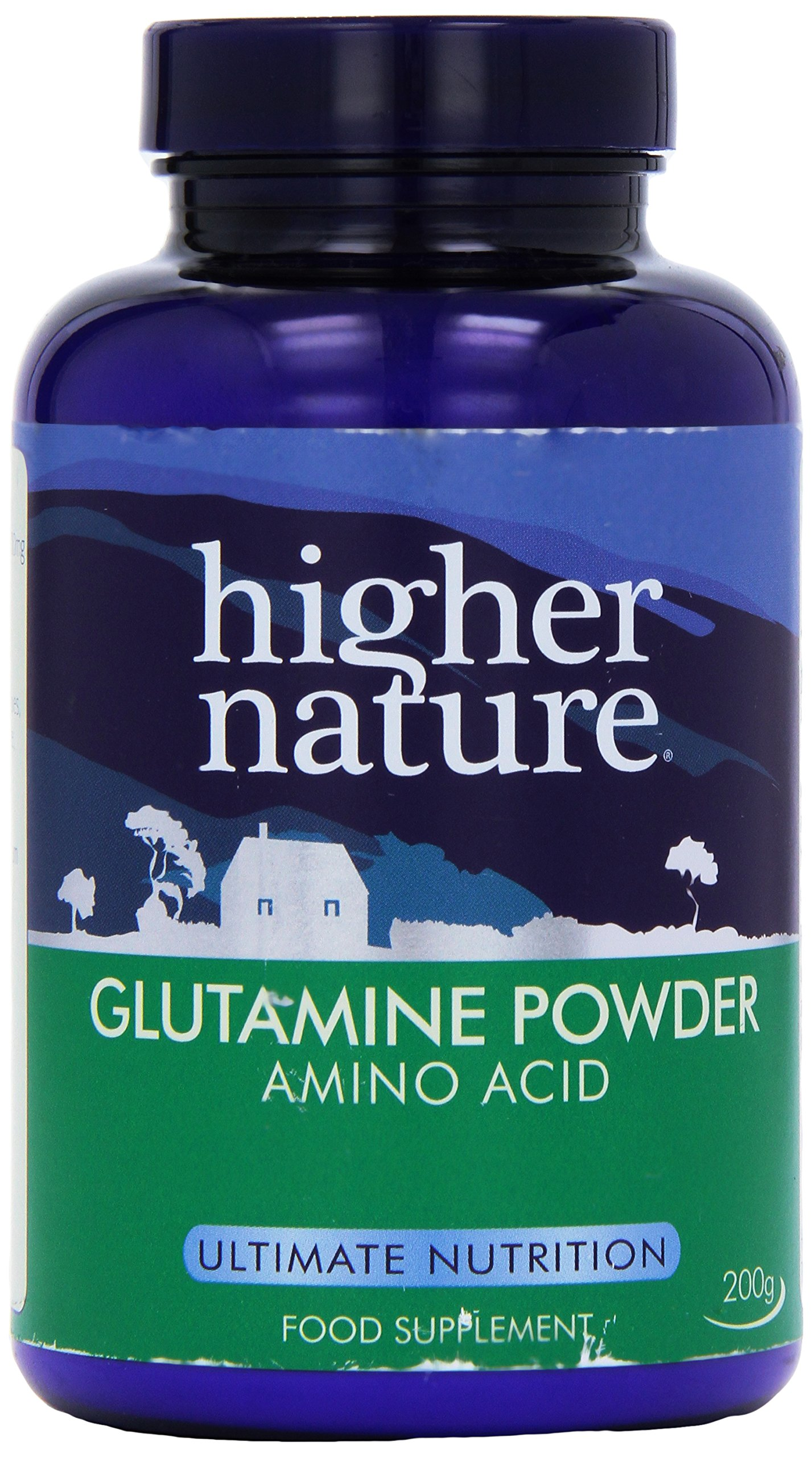 812LuLBiikL - Higher Nature 200g Glutamine Powder